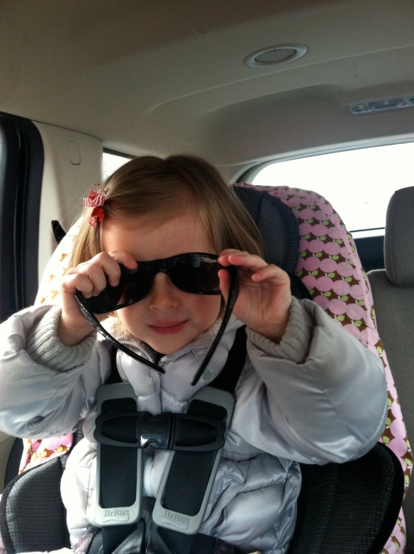 To drop: sunglasses (Dada's)