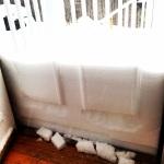Almost A Half Door Of Snow!